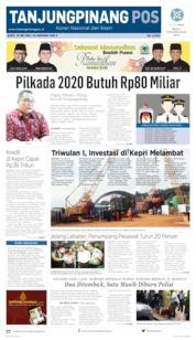 Tanjungpinang Pos Cover 25 May 2019