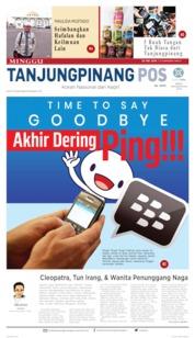 Tanjungpinang Pos Cover 26 May 2019