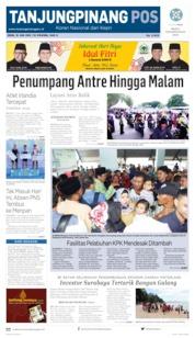 Tanjungpinang Pos Cover 10 June 2019