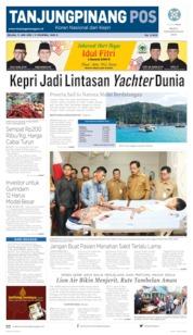 Tanjungpinang Pos Cover 11 June 2019