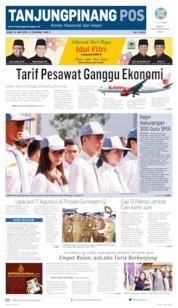 Tanjungpinang Pos Cover 12 June 2019