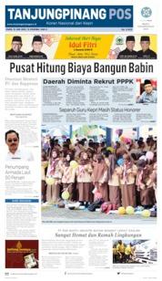Tanjungpinang Pos Cover 13 June 2019