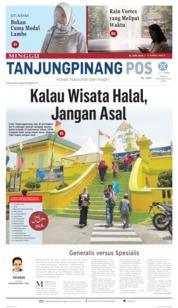 Tanjungpinang Pos Cover 16 June 2019