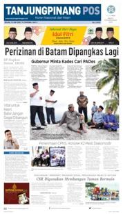 Cover Tanjungpinang Pos 18 Juni 2019