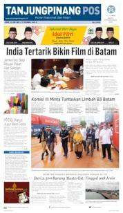 Cover Tanjungpinang Pos 21 Juni 2019