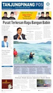 Cover Tanjungpinang Pos 24 Juni 2019