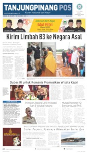 Tanjungpinang Pos Cover 23 July 2019
