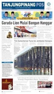 Tanjungpinang Pos Cover 14 August 2019