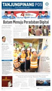 Tanjungpinang Pos Cover 21 August 2019