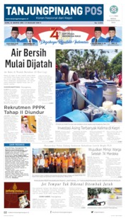 Tanjungpinang Pos Cover 22 August 2019