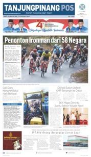 Tanjungpinang Pos Cover 23 August 2019