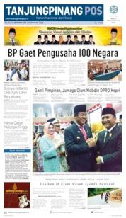 Tanjungpinang Pos Cover 10 September 2019