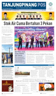 Cover Tanjungpinang Pos 20 September 2019