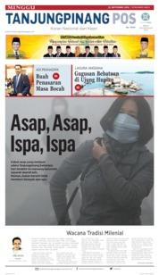 Tanjungpinang Pos Cover 22 September 2019
