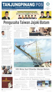 Cover Tanjungpinang Pos 15 Oktober 2019