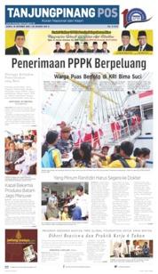 Cover Tanjungpinang Pos 19 Oktober 2019