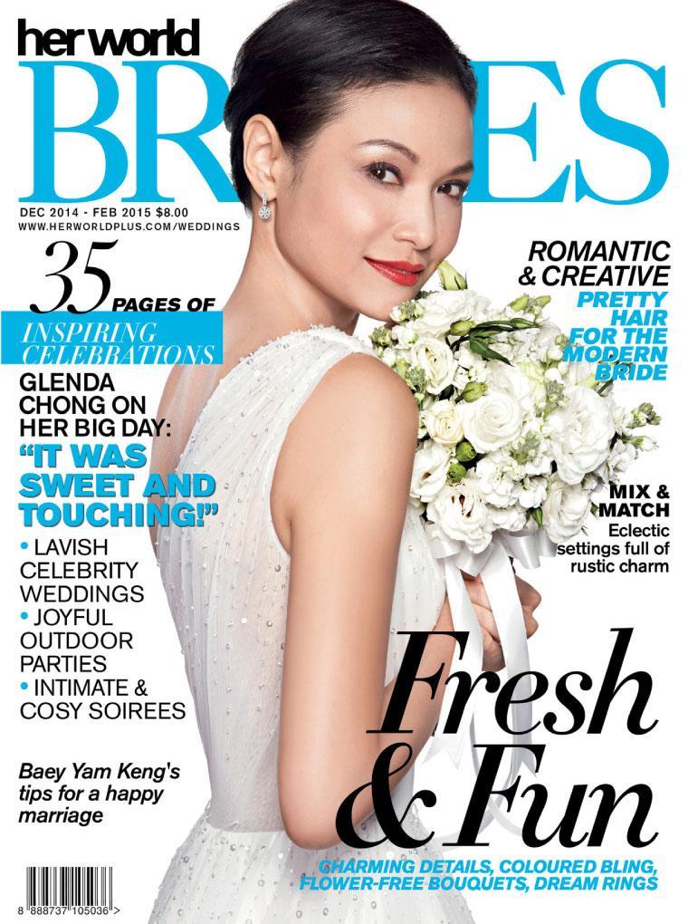 Majalah Digital her world BRIDES Singapore Desember–Februari 2015