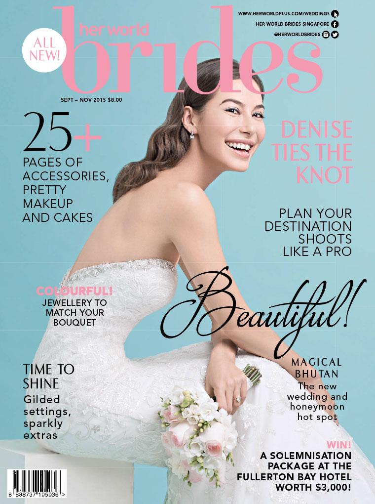 Majalah Digital her world BRIDES Singapore September–November 2015