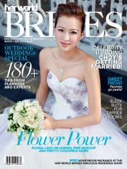 Cover Majalah her world BRIDES Singapore Maret–Mei 2014