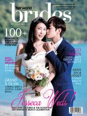 Cover Majalah her world BRIDES Singapore