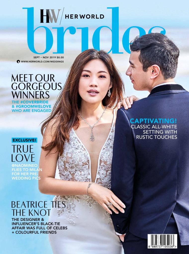 Her world BRIDES Singapore Digital Magazine September-November 2019