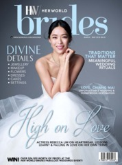 Her world BRIDES Singapore Magazine Cover March–May 2018
