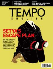 Cover Majalah TEMPO ENGLISH ED 1565 / 18–24 SEP 2017 ED 1565 18–24 September 2017