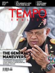 Cover Majalah TEMPO ENGLISH ED 1567 / 02–08 OCT 2017 ED 1567 02–08 Oktober 2017
