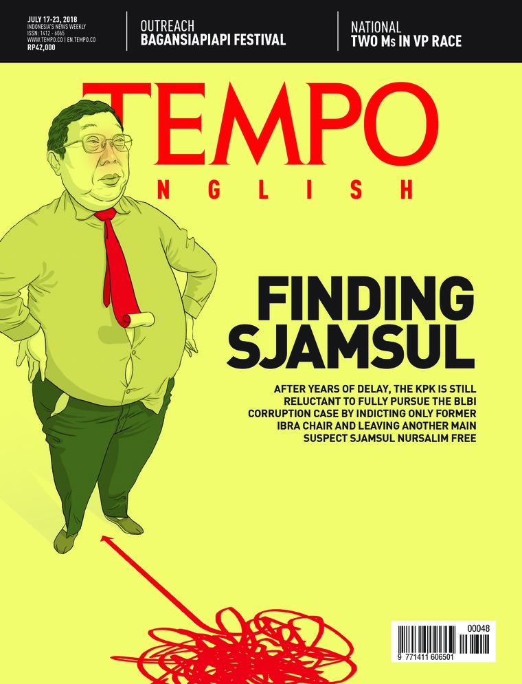 Majalah Digital TEMPO ENGLISH ED 1608 16-22 Juli 2018