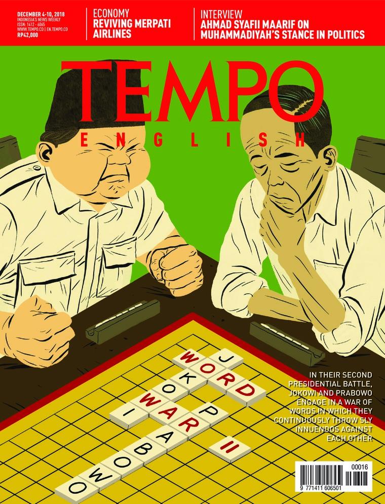 Majalah Digital TEMPO ENGLISH ED 1628 04-10 Desember 2018