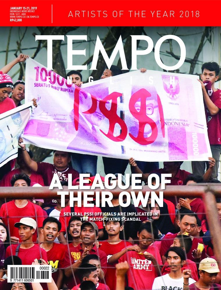 Majalah Digital TEMPO ENGLISH ED 1634 15-21 Januari 2019