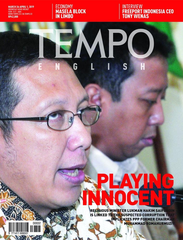 Majalah Digital TEMPO ENGLISH ED 1644 26-01 April 2019