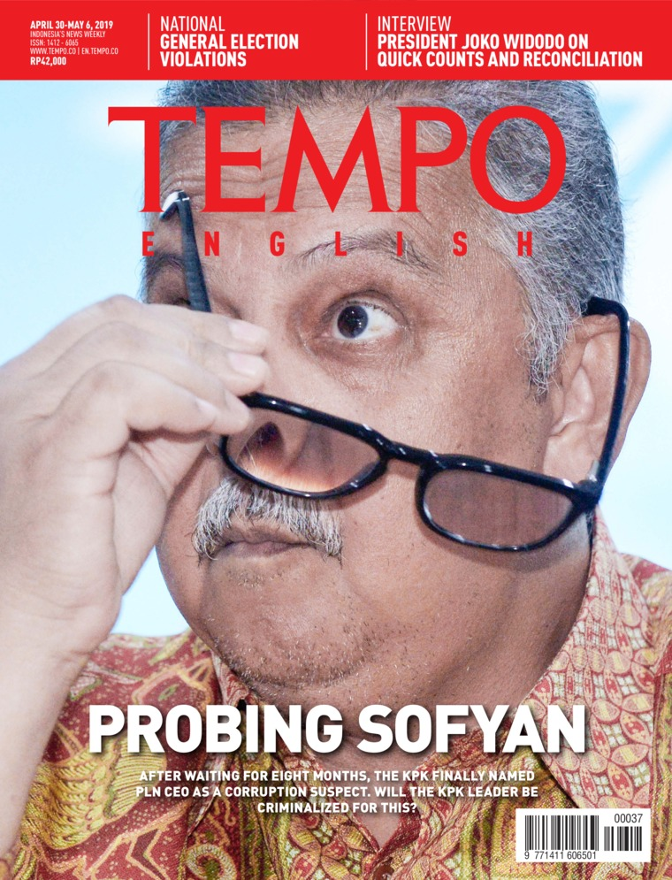 Majalah Digital TEMPO ENGLISH ED 1649 30-06 Mei 2019