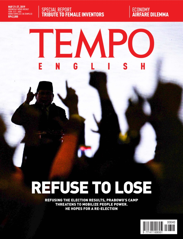 TEMPO ENGLISH ED 1652 Digital Magazine 21-27 May 2019