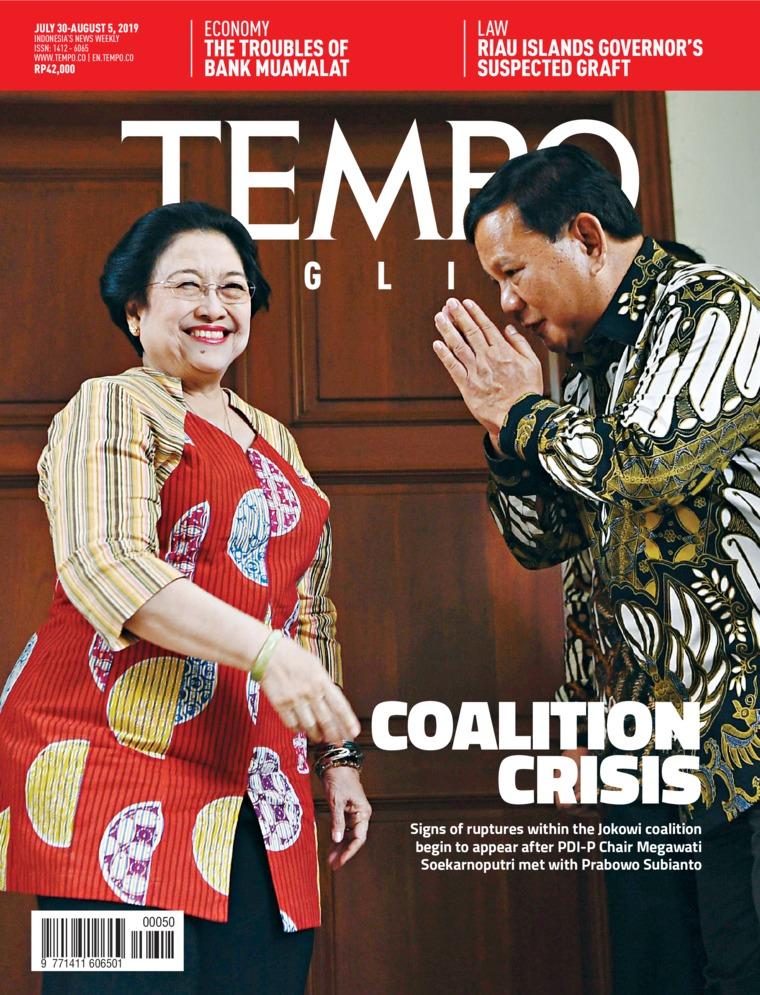 TEMPO ENGLISH ED 1660 Digital Magazine 30-05 August 2019