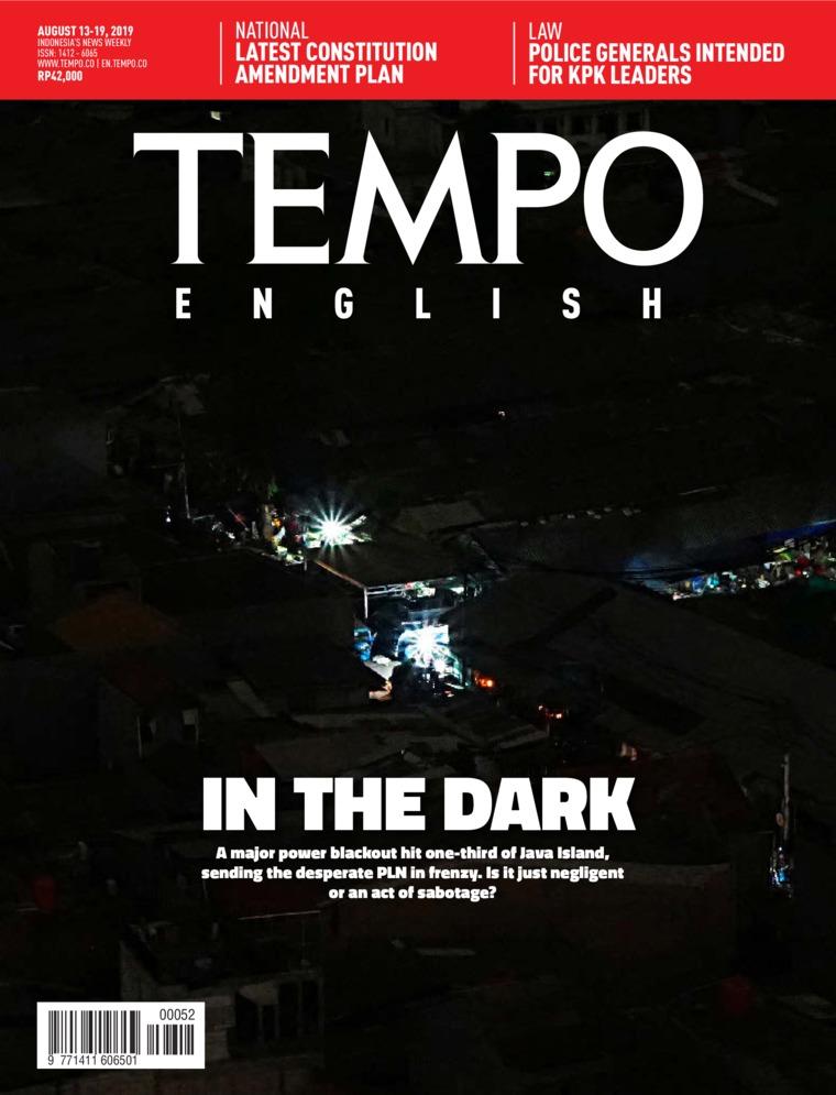 Majalah Digital TEMPO ENGLISH ED 1662 13-19 Agustus 2019
