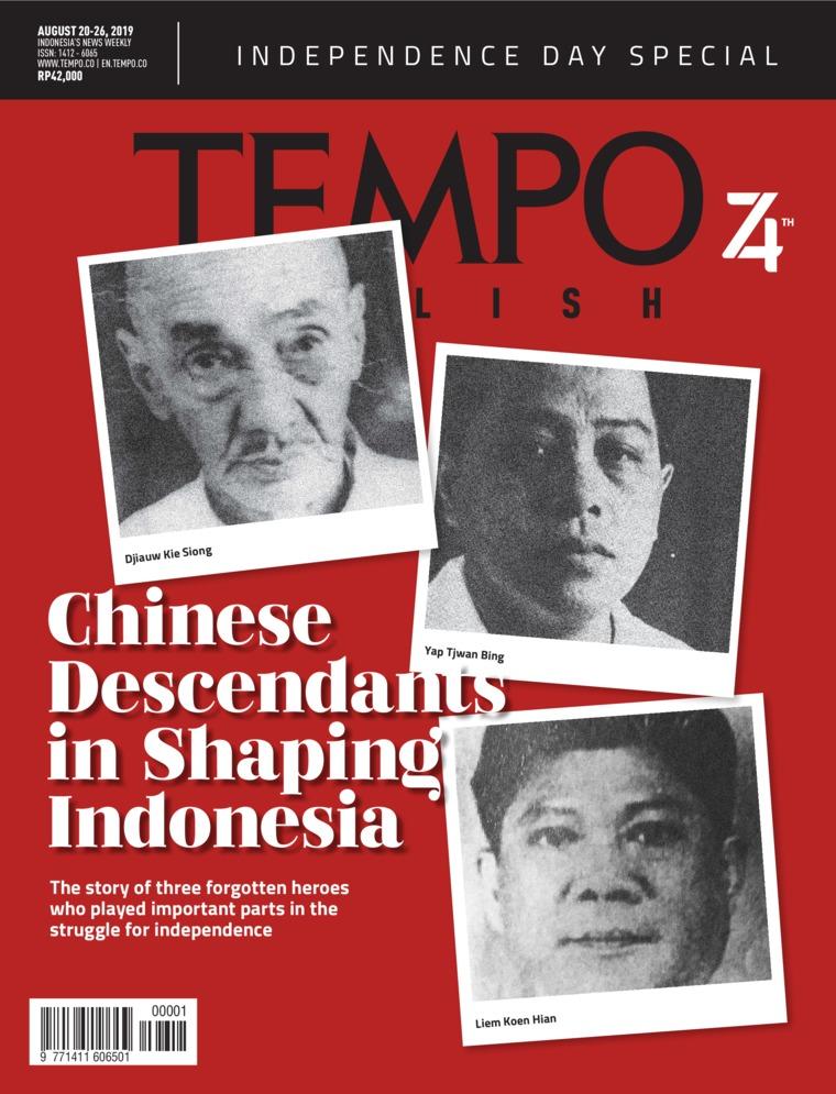 Majalah Digital TEMPO ENGLISH ED 1663 20-26 Agustus 2019