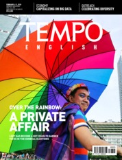 Cover Majalah TEMPO ENGLISH ED 1585 / 05–11 FEB 2018 ED 1585 05–11 Februari 2018