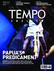 Cover Majalah TEMPO ENGLISH ED 1586 / 12–18 FEB 2018 ED 1586 12–18 Februari 2018