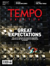 Cover Majalah TEMPO ENGLISH ED 1587 / 19–25 FEB 2018 ED 1587 19–25 Februari 2018
