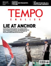 Cover Majalah TEMPO ENGLISH ED 1590 / 12–18 MAR 2018 ED 1590 12–18 Maret 2018