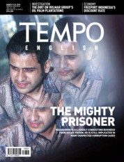 Cover Majalah TEMPO ENGLISH ED 1591 / 19–25 MAR 2018 ED 1591 19–25 Maret 2018