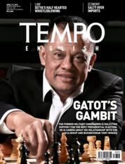 Cover Majalah TEMPO ENGLISH ED 1593 / 02–08 APR 2018 ED 1593 02–08 April 2018