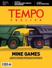 Cover Majalah TEMPO ENGLISH ED 1594 09–15 April 2018