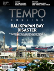 Cover Majalah TEMPO ENGLISH ED 1595 16–22 April 2018