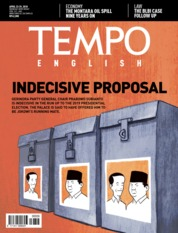 Cover Majalah TEMPO ENGLISH ED 1596 23–29 April 2018
