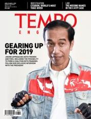 Cover Majalah TEMPO ENGLISH ED 1597 30–06 Mei 2018