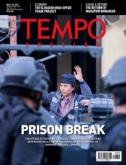 Cover Majalah TEMPO ENGLISH ED 1599 14-20 Mei 2018