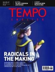Cover Majalah TEMPO ENGLISH ED 1601 28-03 Juni 2018