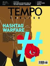 Cover Majalah TEMPO ENGLISH ED 1602 04-10 Juni 2018